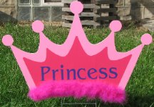 2D Princess Crowns
