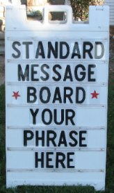 Standard Message Board