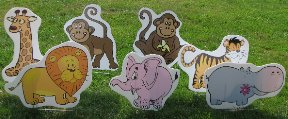 2D Zoo Animals