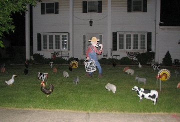 3D Barn Yard Display